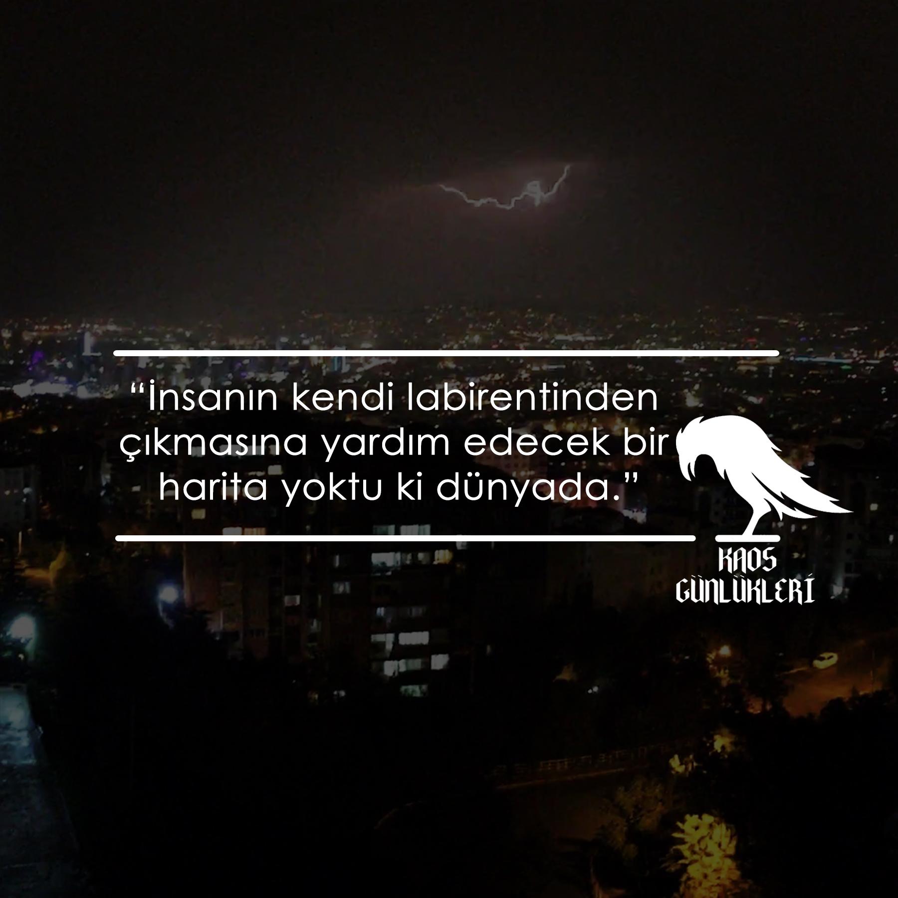 Ankaranın gece şehir manzarası